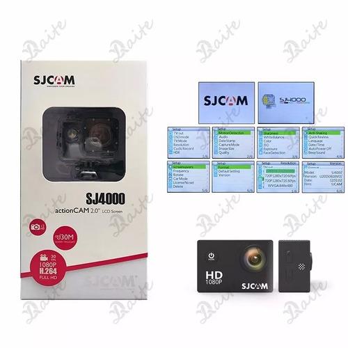 sj4000 câmera esporte 2.0inc 12mp 1080p hd sjcam original fb
