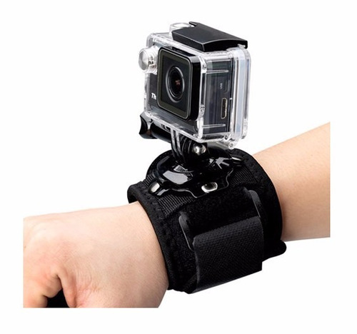 sjcam soporte correa 360g para muñeca cámaras deportivas