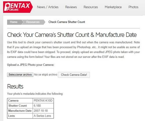 sji cámara digital pentax k10d en su caja original