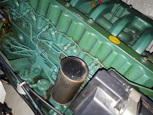 sk 35, 2 volvo165 hp, linea de eje