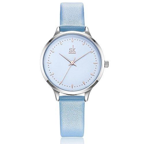 ea43178e4026 Sk Shengke Relojes Para Mujer En Venta Correa De Cuero... -   25.990 ...