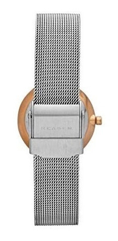 skagen women's ancher stainless steel mesh dress quartz watc