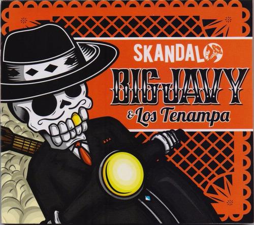 skandalo - big javy y los tenampa - disco cd 15 canciones