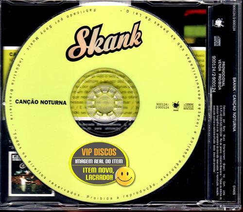 skank cd single canção noturna - lacrado