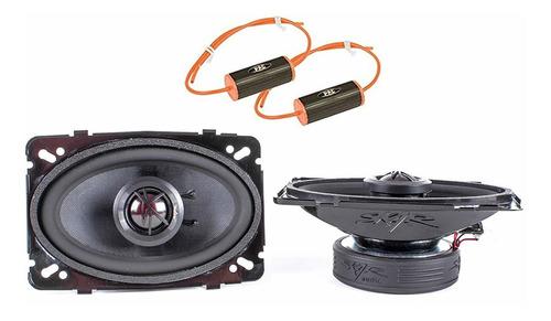 skar audio tx46 - altavoces coaxiales de 140 w y 2 vías c