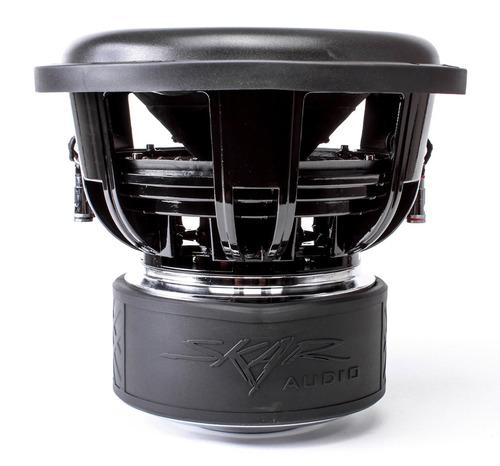 skar audio zvx-12v2 subwoofer de 12  1500 watt rms de 2 ohmi