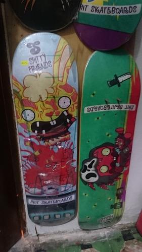 skate board / tabla importados zoo york - shit