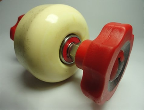 skate chave especial red skull