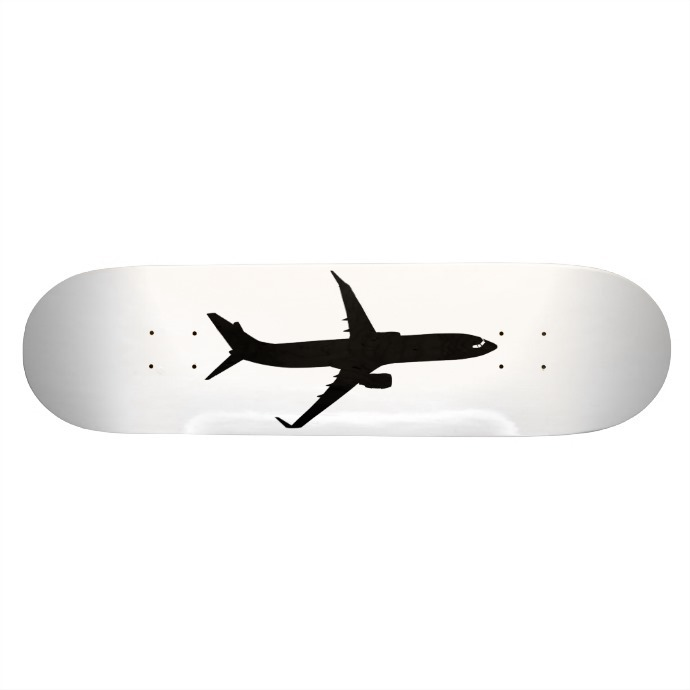 Skate Completo Aviones Avión Negro Vuelo Modifica Color - $ 1.799,00 ...