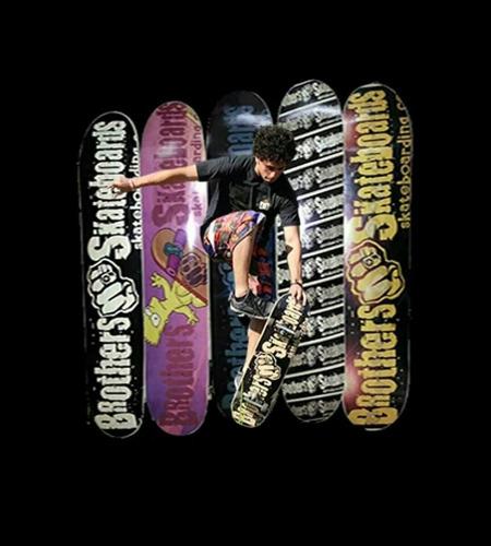 skate completo guatambu brothers