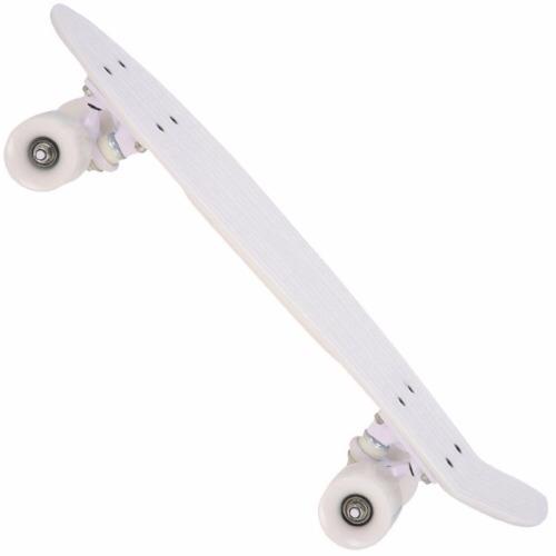 skate cruiser mini longboard penny retrô kronik abec 7 branc