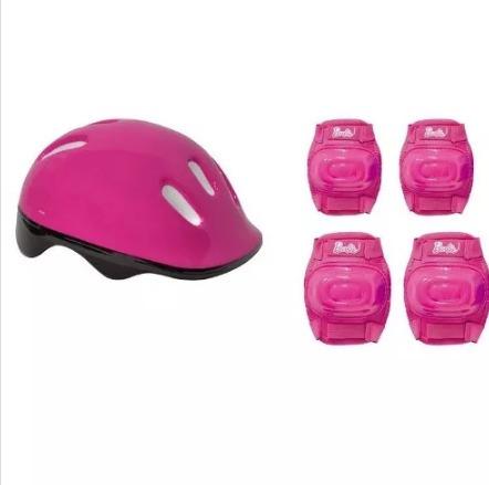 dbfdafa6d15 Skate Da Barbie + Acessórios De Segurança E Adesivos Glitter - R ...