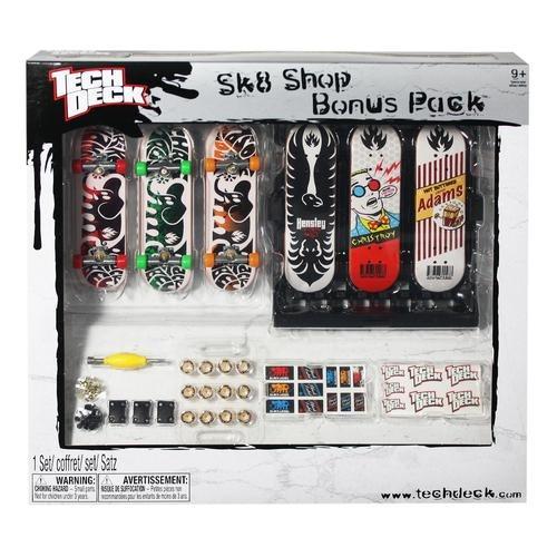 skate de dedo bônus sk8 shop - tech deck br339