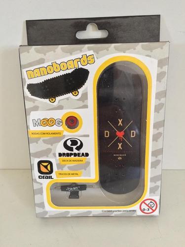 skate de dedo nanoboards novo com nfe e garantia!!!