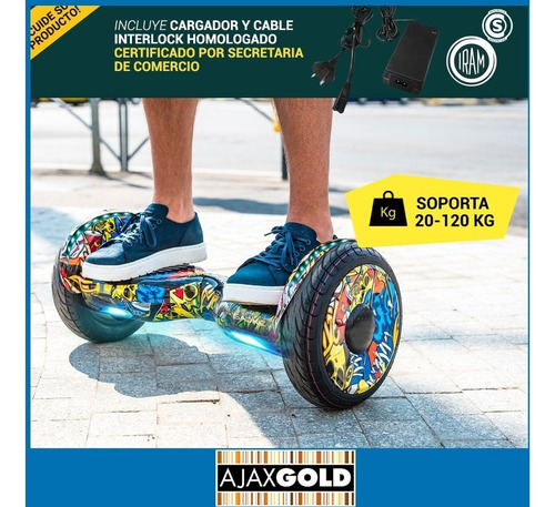 skate electrico 10 patineta hoverboard 20km scooter balance