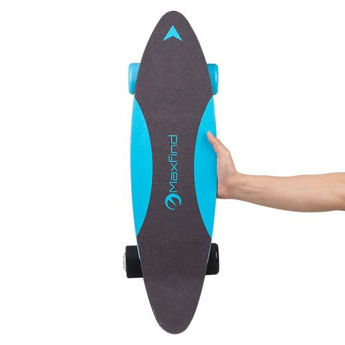 skate elétrico maxfind maxc azul