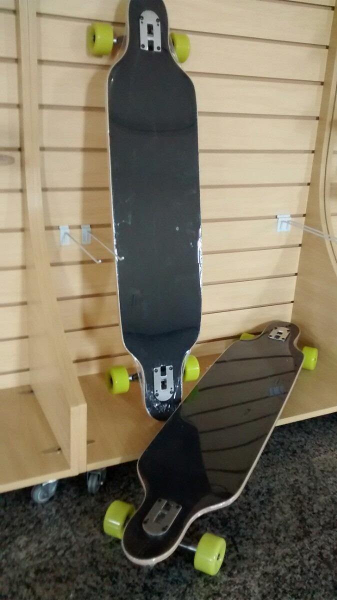 c3f8ed27ac7b7 Skate Long Board Drop Thru (marca Vitsports) Promoção - R  149