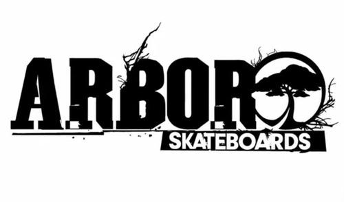 skate longboard arbor - timeless reclaimed 46