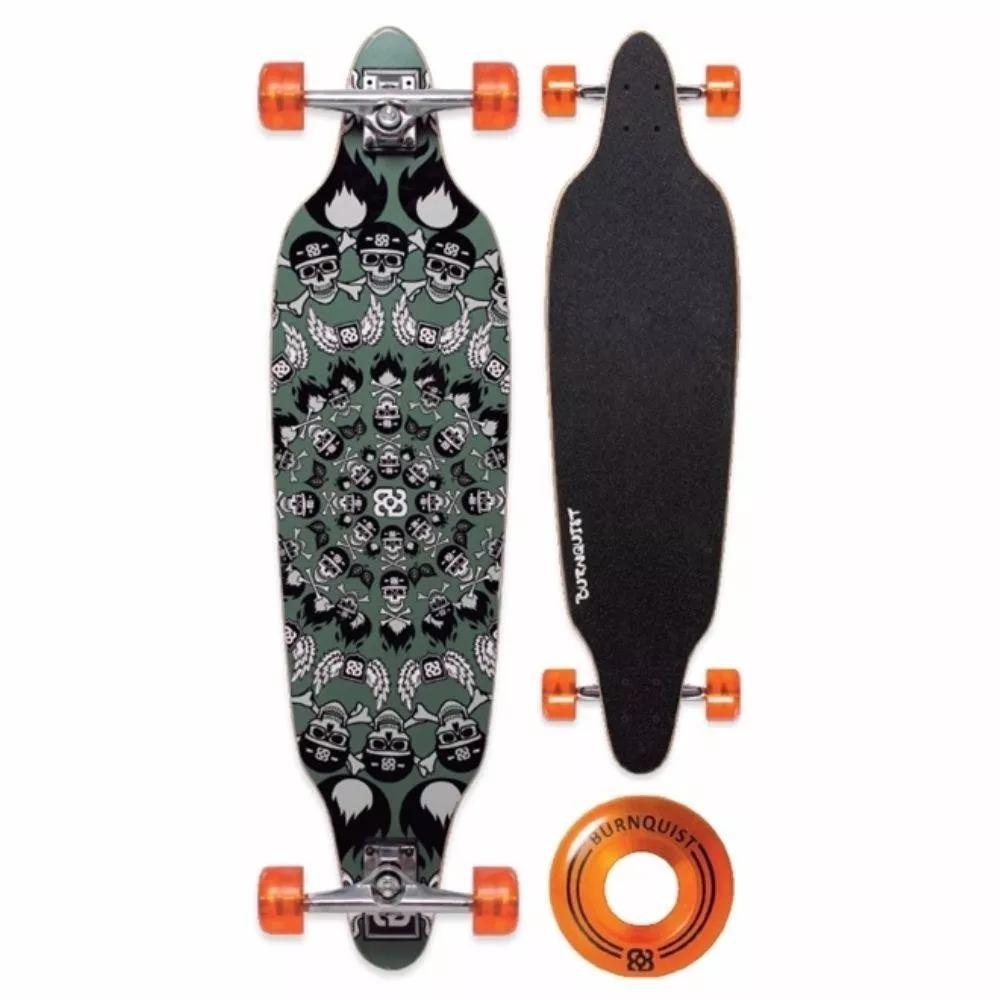 20b57e15faa53 skate longboard bob burnquist 39pol verde multilaser es014. Carregando zoom.