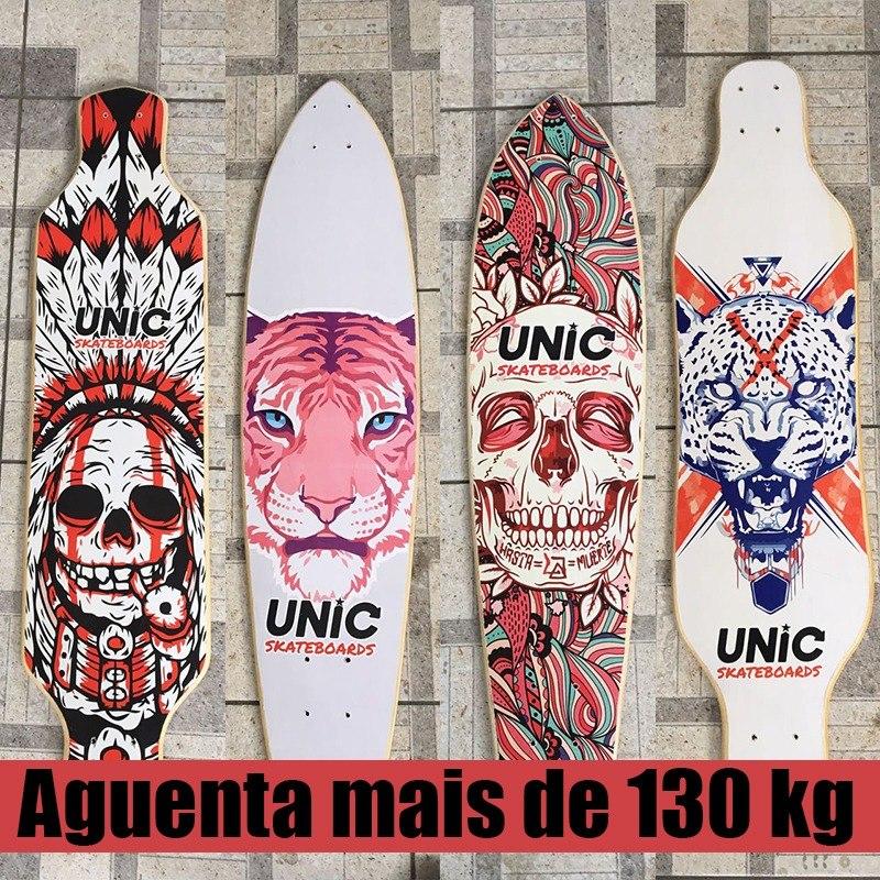 7174284833325 skate longboard completo barato unic - frete grátis. Carregando zoom.