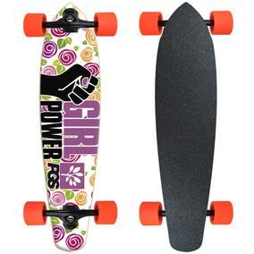 a75d45225e2 Skate Com Desenhos De Flores - Skate no Mercado Livre Brasil