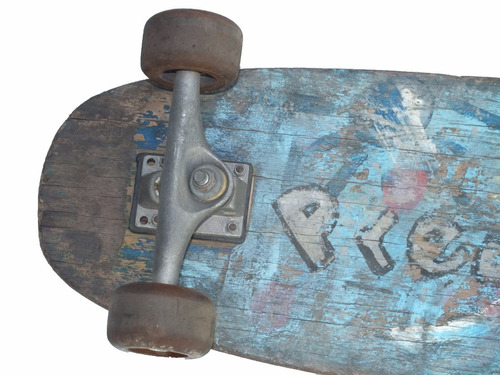 skate longboard grande rodas gel 65mm montado sem lixa a9485