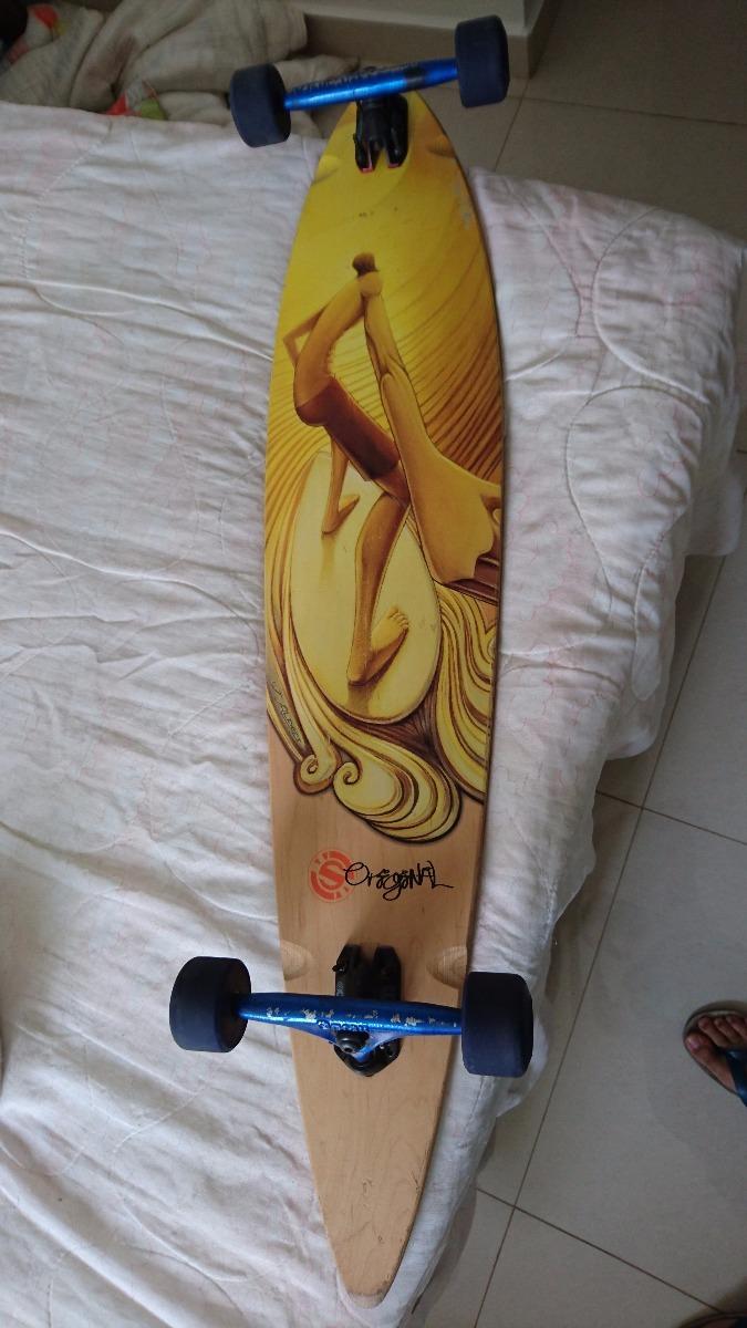 skate longboard pintail 46 capacete e joelheira. Carregando zoom. 8e54a4ad3f8