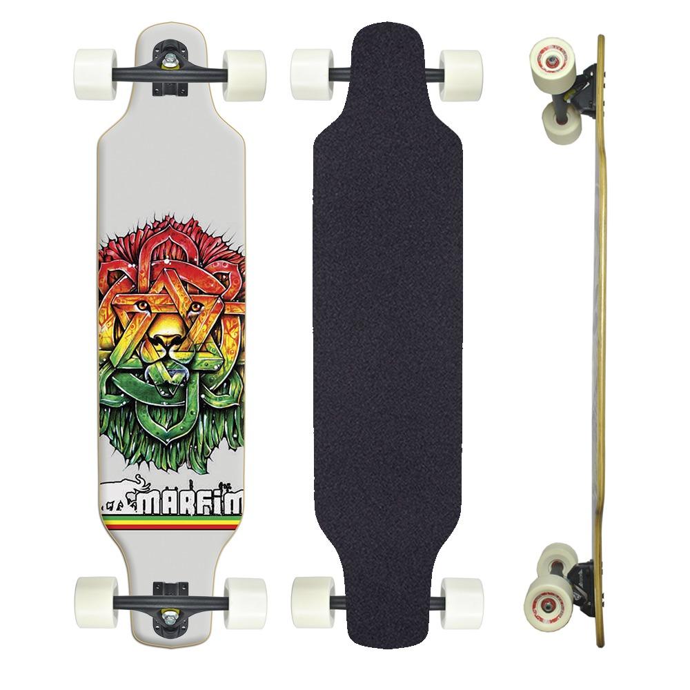 35b6474114c skate longboard speedy profissional completo. Carregando zoom.