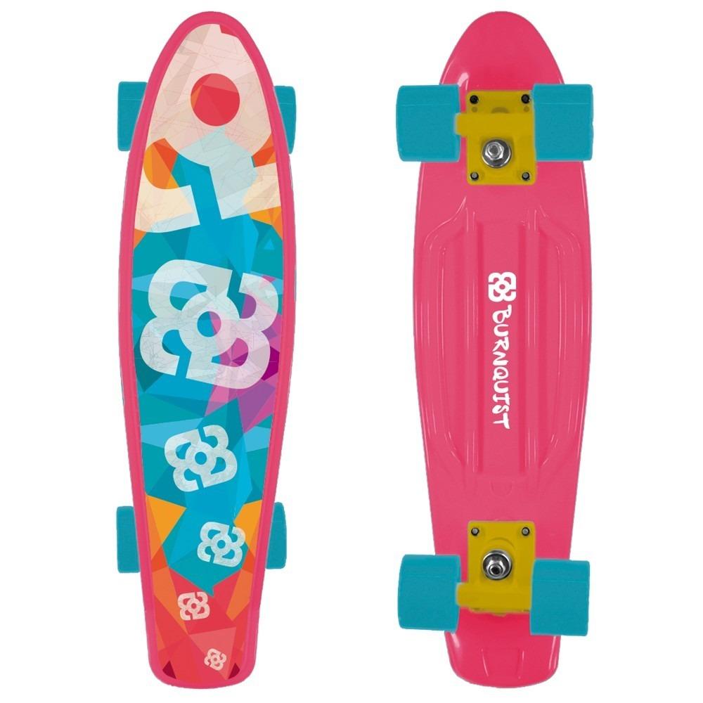Skate Mini Cruiser Atrio Bob Burnquist Rosa - Es092 - R$ 185,00 em ...