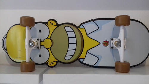 skate mini long homer simpson santa cruz