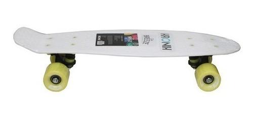 skate mini penny kronik breeze  branco white 100 kg promocao