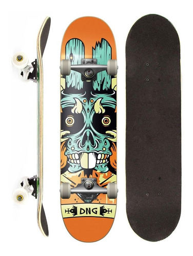 skate montado completo dng profissional monster
