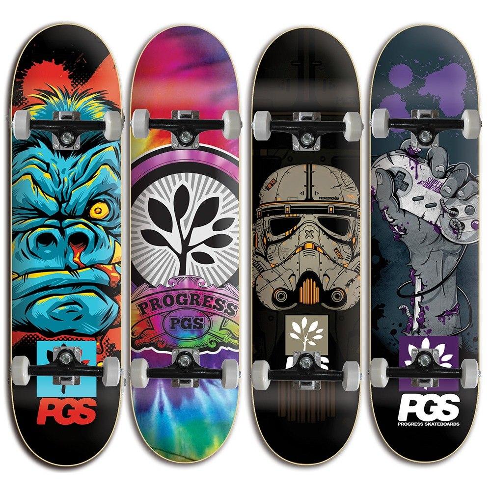b5e31d0eb9e Skate Para Crianças Semi Profissional - Pgs Vários Modelos - R  189 ...