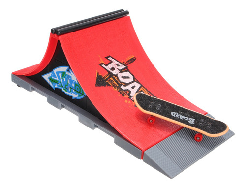 skate park rampa piezas para tech deck diapasón dedo board u