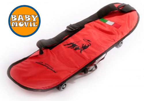 skate patineta lamborghini set proteccion babymovil 7312