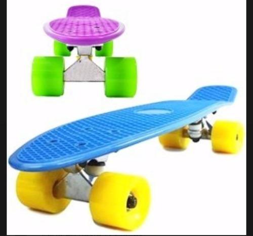 skate penny patineta mini longboard aluminio colores