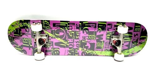 skate profesional maple doble cola madera trucks aluminio