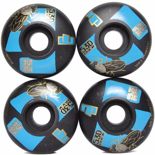 skate profissional black sheep abec 9 rodas moska 53 mm