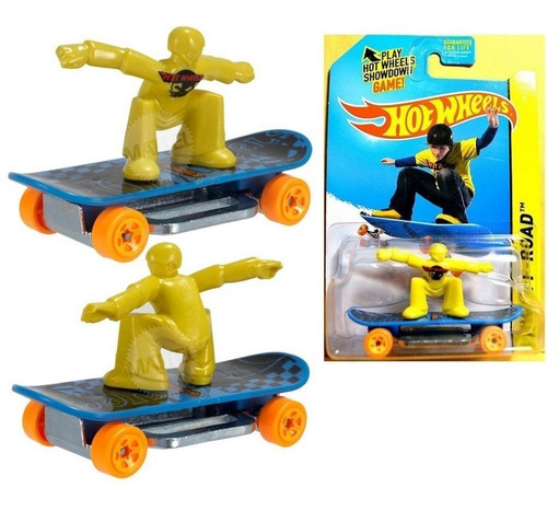 skate punk patineta skateboard de coleccion hot wheels