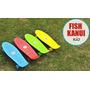 Patineta Skate Mini Long Board Cruiser 27 Fish Kanui Rio