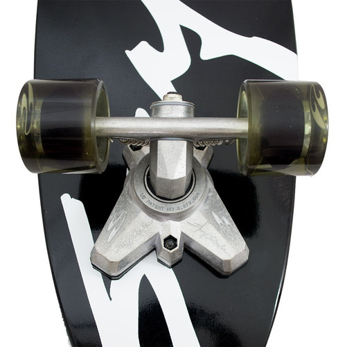 skate simulador surf swell tech surfskate premiere black out