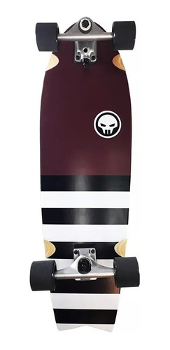 skate surfing longboard fishtail 33'' carver grand gopher