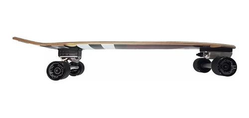 skate surfing longboard fishtail 33'' carver grand gopher