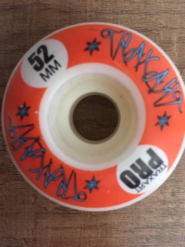 skate traxart pro dl-464 + rodas de long + kit proteção