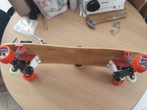 skate urban snowboard longboard simulador no asfalto