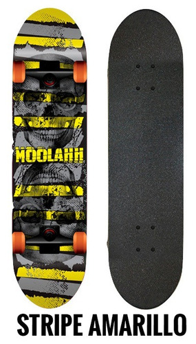 skates profesionales moolahh doble cola maple 7 capas