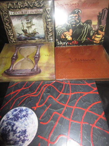 skay beilinson - discografia completa 6 cd - los chiquibum