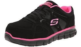 Skechers For Work Womens Synergy Sandlot Zapato De Trabajo D