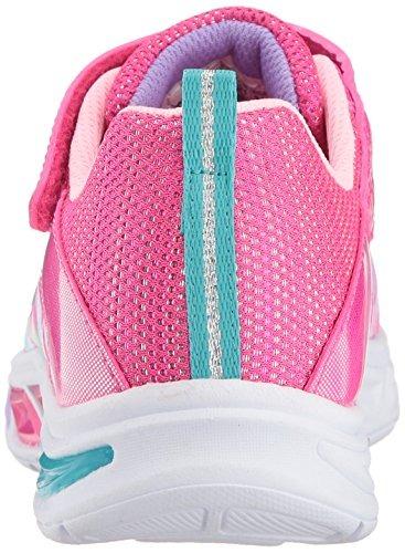f3a41da96ce7 Skechers Kids Girls Litebeams-dance N glow Sneaker