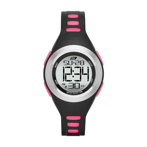 skechers - reloj sr2019 quartz plastic fitness para mujer